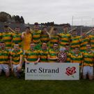 The South Kerry team that won the county U-16 hurling championship after a replay win over Crotta O'Neills