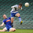 Daniel Daly, St Mary's, in action against Conor McGill, Ratoath, in Sunday's All-Ireland Club IFC semi-final. Photos by Sportsfile