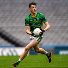 Kerry minor star David Clifford in action for St. Brendan's Killarney against Shea Downey, St. Patrick's Maghera in the Hogan Cup final earlier this month in Croke Park. Photo by Ray McManus/Sportsfile