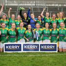 The victorious Kerry team that retained Munster honours in the Munster U-16 'A' championship last Saturday in Mallow. Photo by Thomas White