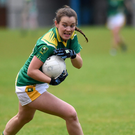 Kerry's Anna Galvin in action during the Munster Ladies Final in Direen on Sunday evening. Photo by Michelle Cooper Galvin