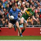 Brian Fenton, Dublin, in action against David Moran during the 2016 final