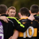 Colm Cooper of Dr Crokes speaking in the team huddle after their AIB Munster Club SFC semi-final against Loughmore-Castleiney in Killarney. Photo by Sportsfile