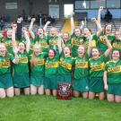 The Kerry U-18 camogie team that won the Strike for Glory national final
