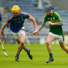 Lixnaw rising star Shane Conway in action against Wicklow in the recent All Ireland Under 21 B final in Semple Stadium, Thurles. Photo by Piaras Ó Mídheach / Sportsfile
