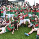 The victorious Crotta O'Neills team celebrate their success