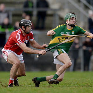 Can Jordan Conway continue his good form against the Rebels this weekend? He's pictured here in against against Chris Joyce during the counties 2017 Munster League clash.Photo by Éoin Noonan/Sportsfile
