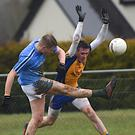 Donnacadh O'Sullivan, Firies, scores a point against Beaufort's Jonathan Kissane in the County Premier Junior Championship round 1in Milltown on Sunday. Photo by Michelle Cooper Galvin