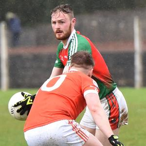 Kilcummin's Gary O'Leary who scored two points against Kilrush last weekend. Photo by Michelle Cooper Galvin