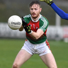 Kilcummin centre-forward Gary O'Leary in action during the Munster championship