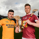 McDonagh Cup hurlers Tommy Doyle of Westmeath and Martin Stackpoole of Kerry. Photo by Eóin Noonan / Sportsfile