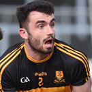 Dr Crokes' David Naughton in action against Rathmore