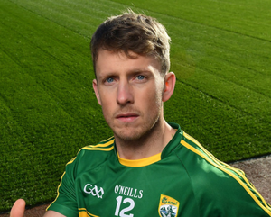 Kerry's Donnchadh Walsh (pictured) and Mayo's Danny Kirby picked up one-match bans for alleged involvement in a brawl at the end of their Tralee league match in February after a CCCC investigation. Photo: Brendan Moran / Sportsfile