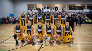 The Team 360 Financial Killorglin team that lost to Tralee Warriors last weekend. Photo by Domnick Walsh