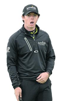 Rory McIlroy. Photo: Oliver McVeigh / SPORTSFILE