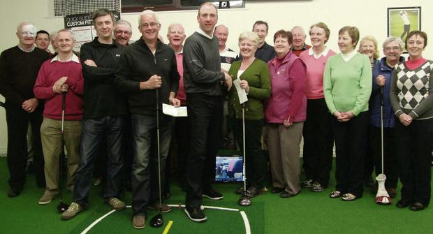 Beaufort Golf Club recently held a long drive evening at Swing Studio Killarney