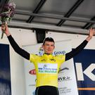 Sean McKenna, whose grandfather hails from Inch, county Kerry, was the overall winner of the Ras Mumhan four-day international cycle race, held on the roads of Kerry and Cork over the Easter weekend