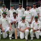 The Kerry cricket squad who faced Cork County in the washed out Munster Senior Cup final last Sunday