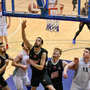 Mark Greene of Scotts Lakers St Paul's Killarney scoring a layup during the Hula Hoops President's Cup semi-final match between Scotts Lakers St Paul's Killarney and Ballincollig at Neptune Stadium in Cork. Photo by Sportsfile