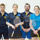 The Kerry Inter-county Grade E team travelled to the WIT Sports Centre in Waterford to do battle in the Munster All-Ireland series last Sunday. They finished runners-up on the day. From left: Marian O'Neill, Manager, Mairead O'Regan, Donnacha Moloney, Brid Murphy, Timmy Noonan, Sameira Hayes, Donie Enright, Niamh Hickey, Brendan McGovern, Michelle Beazley, Aidan McCarthy, Catherine Hanrahan, Manager
