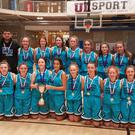 The South West girls team