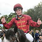 Jockey Oisin Murphy and Roaring Lion