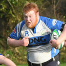 Tralee's Martin Stack in action against Dungarvan in O'Dowd Park last weekend. Photo by Domnick Walsh/Eye Focus