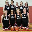 The Kenmare Under-16 girls basketball team that competed in the Community Games finals