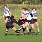Ellie Daly in action for Tralee against Ballincollig