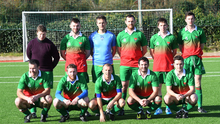 A Camp United senior team from 2016 ahead of a Division 1A match in Mounthawk Park, Tralee. Photo: Domnick Walsh