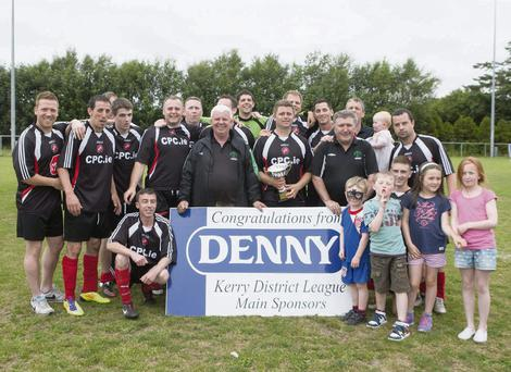 Tralee Dyanmos pictured after winning the Premier league Cup final played at Mounthawk Park, TraleePhoto: Domnick Walsh / Eye Focus