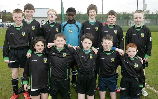 The Kingdom Boys team who took part in the Park FC Tournament at Christy Leahy park.