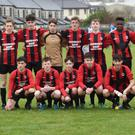 The Park FC team that played Nenagh in the Schoolboys U-16 National Cup in Christy Leahy Park last Saturday. Photo by Domnick Walsh