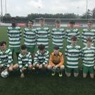 The Killarney Celtic team that beat The Park in the U-15 Cup final in Mounthawk Park. Photo by Eye Focus