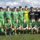 The Kerry team that lost to Bohemians in the Mark Farren Cup U-17 Final at Mounthawk Park, Tralee. Photo by Domnick Walsh