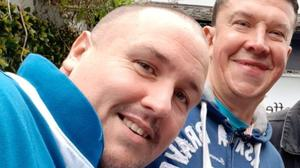 Podcasters Kieran Pickering and Kevin Carolan of the Kev and Pico Show are hosting a fundraising event on Sunday for SOSAD
