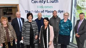 Louth County Council welcomed judges from the Pride of Place competition to Dundalk last week