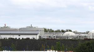 The Drogheda Waste Water treatment plant