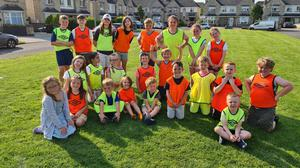From left to right from the back. Danny, Ciaran, Katie, Sarah, Baxter, Rose, Ava, Megan Sophia, Rahmeen, Lucy, Ollie, Lucas, Front row from left Lilyan, Cara, Fionn, Elliot, Daniel, Aaron, Charlie, Zach and Matthew.