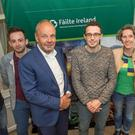 Gearóid Lynch, Cavan; Anthony O'Toole, Culinarean Press, Wexford; Keynote speaker Harko Braam, Holland; Chris Molloy, Donegal Ruth Healy, Urru Culinary Store Cork with Shane Raftery, Failte Ireland