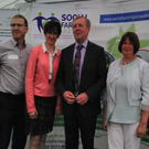 At the launch are Tom Bermingham, WLD, Maura Canning, IFA Farm Family Committee, Minister Michael Creed, Marie Redmond and Liam O Byrne, Wexford IFA