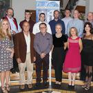 Provac staff at the 20th anniversary celebration dinner at the Ferrycarrig Hotel