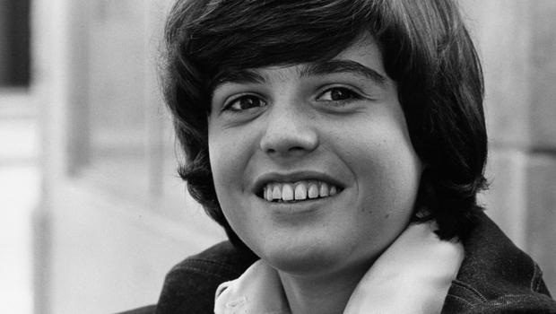Pin-up boy Donny Osmond had three solo No. 1 hits in the UK in the seventies