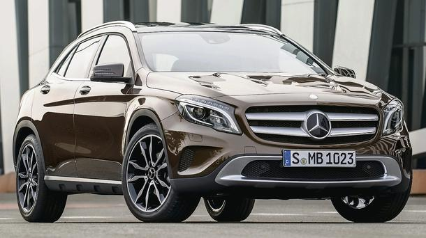 One of the early 2014 arrivals from Mercedes-Benz