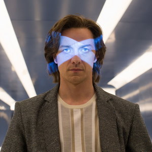 James McAvoy as the young Professor X in X-Men: Apocalypse