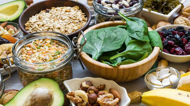 Magnesium is especially abundant in green leafy veg, seaweeds, oily fish, soya beans, avocado, brown whole grain bread, and nuts