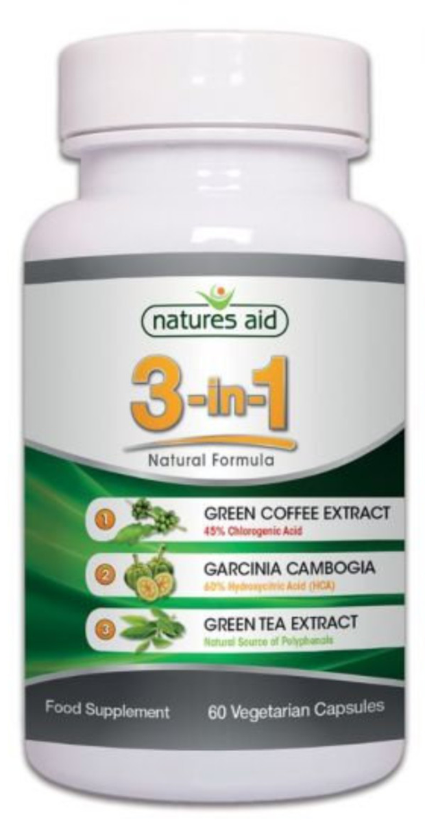 Natures Aid 3-in-1 contains 3 key ingredients associated with weight control