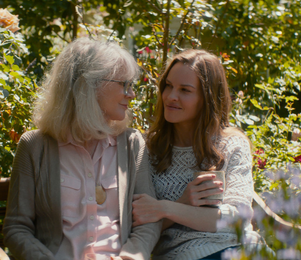 Blythe Danner as Ruth Keller and Hilary Swank as Bridget Keller in What They Had.