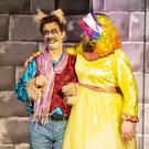 Keith Flanagan as 'Bradley'and Jimmy Smith as 'Nanny Nintendo' in the 'Sleeping Beauty' pantomime in St Michael's Theatre, New Ross