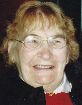 The late Mary Barry.